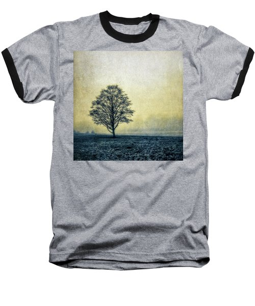 Baseball T-Shirt featuring the photograph Lonely Tree by Marion McCristall