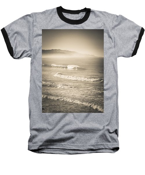 Lonely Winter Waves Baseball T-Shirt