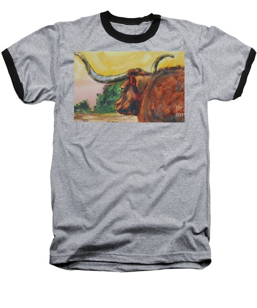 Lonesome Longhorn Baseball T-Shirt