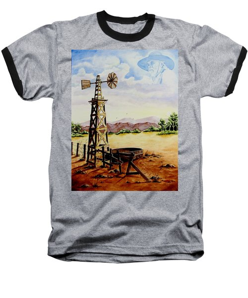 Lonesome Prairie Baseball T-Shirt