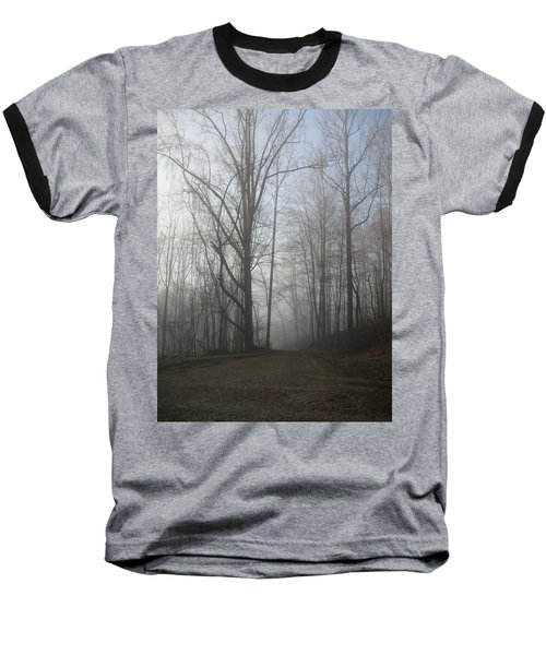 Baseball T-Shirt featuring the photograph Lonesome Road by Cynthia Lassiter