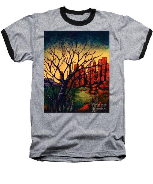 Lonesome Tree  Baseball T-Shirt