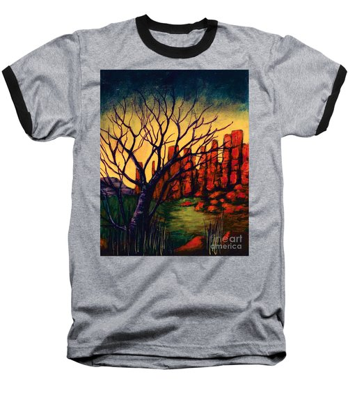 Lonesome Tree  Baseball T-Shirt
