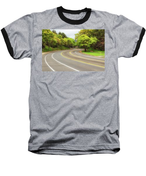 Long And Winding Road Baseball T-Shirt