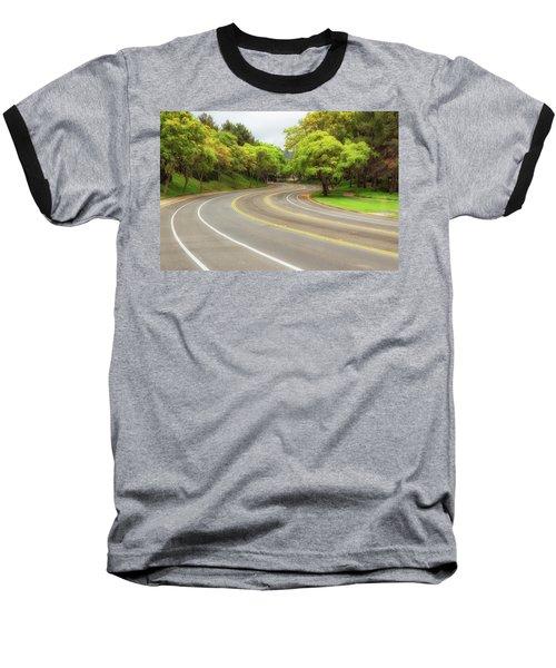 Long And Winding Road Baseball T-Shirt
