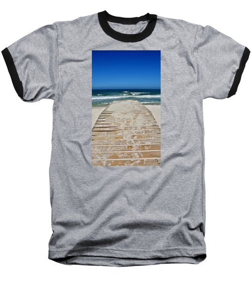 Baseball T-Shirt featuring the photograph long awaited View by Werner Lehmann