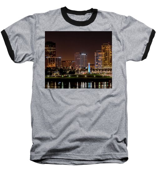 Long Beach A Chip In Time Color Baseball T-Shirt