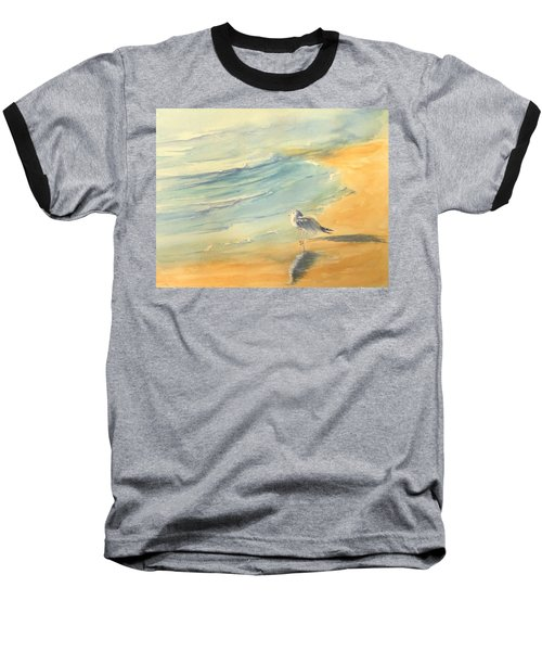 Long Beach Bird Baseball T-Shirt
