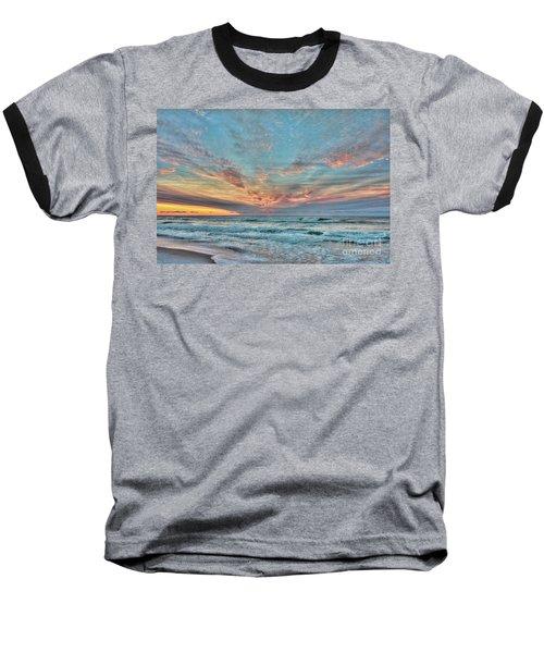 Long Beach Island Sunrise Baseball T-Shirt