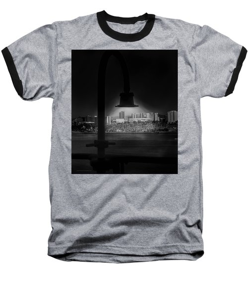 Long Beach Noir Baseball T-Shirt