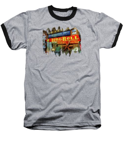 Long Bell  Baseball T-Shirt by Thom Zehrfeld