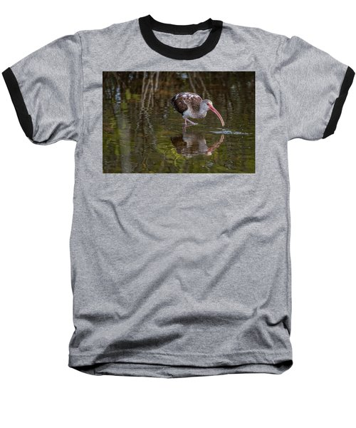 Long-billed Curlew - Male Baseball T-Shirt