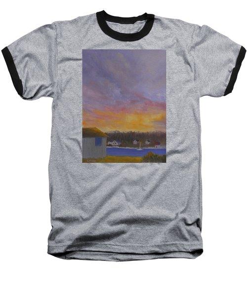 Long Cove Sunrise Baseball T-Shirt