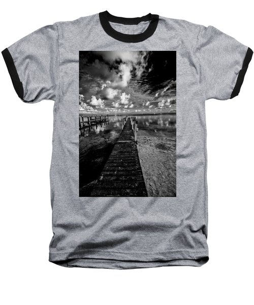 Long Dock Baseball T-Shirt by Kevin Cable