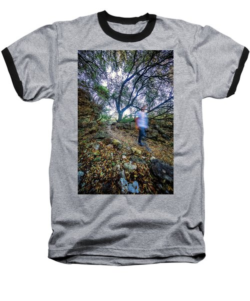 Long Exposure Peddernales Falls State Park Hike Baseball T-Shirt