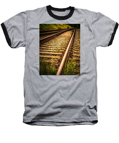 Baseball T-Shirt featuring the photograph Long Gone by Odd Jeppesen
