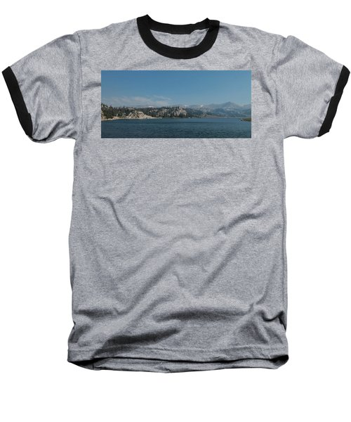 Long Lake Shoshone National Forest Baseball T-Shirt