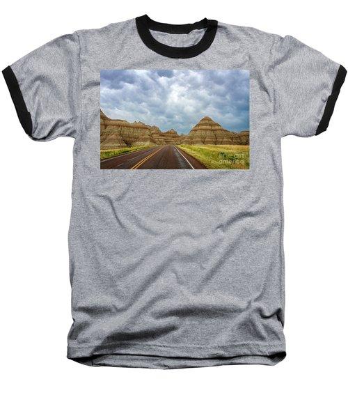 Long Lonesome Highway Baseball T-Shirt