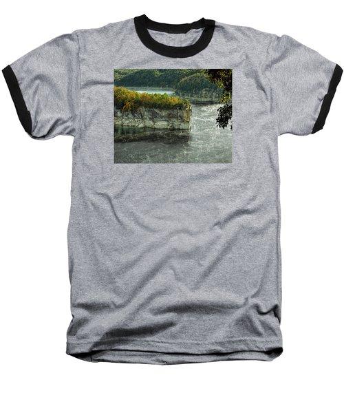 Long Point Clff Baseball T-Shirt by Mark Allen