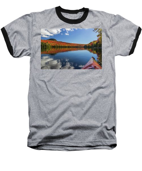 Long Pond From A Kayak Baseball T-Shirt