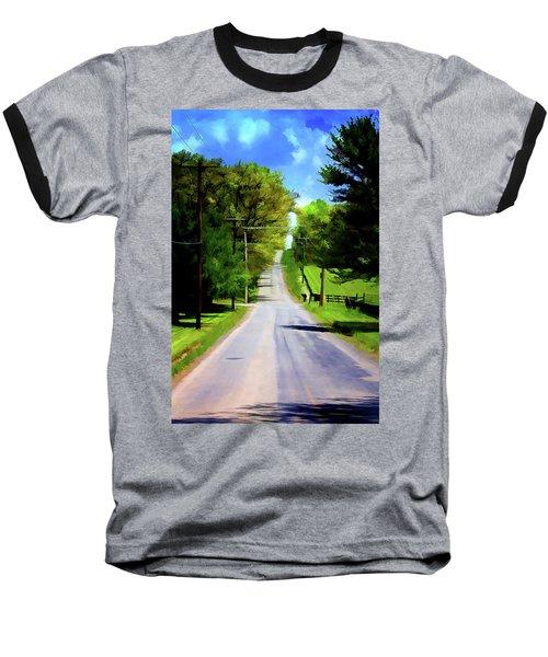 Long Road Ahead Baseball T-Shirt