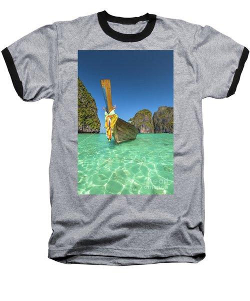 Long Tail Bot Baseball T-Shirt