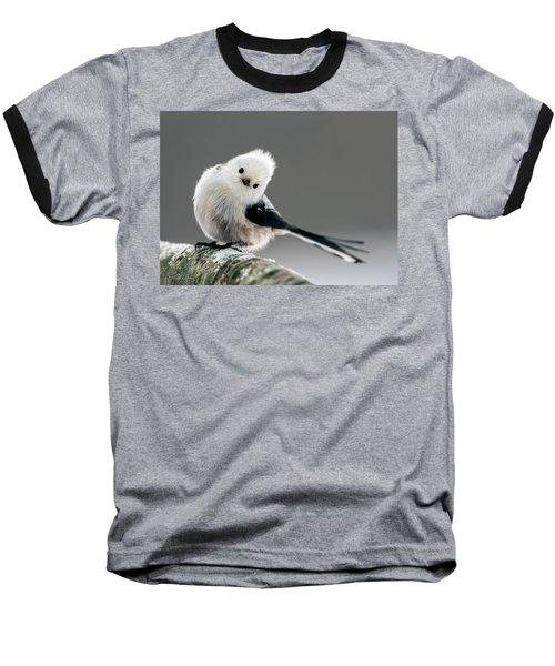 Charming Long-tailed Look Baseball T-Shirt