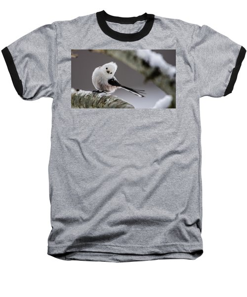 Baseball T-Shirt featuring the photograph Long-tailed Look by Torbjorn Swenelius