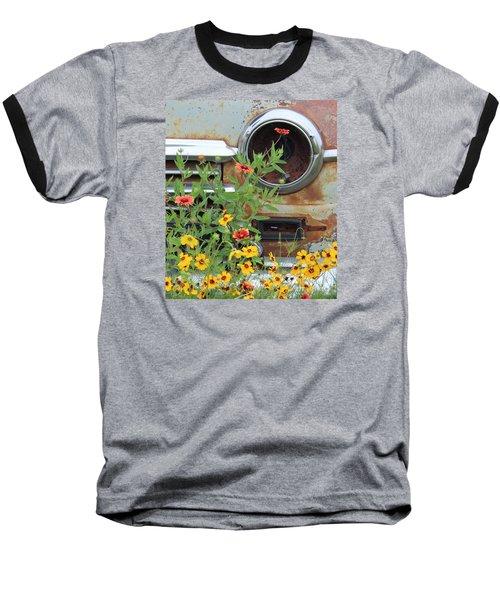 Long Term Parking Baseball T-Shirt by Joe Jake Pratt