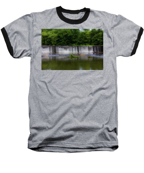 Long Waterfall Baseball T-Shirt