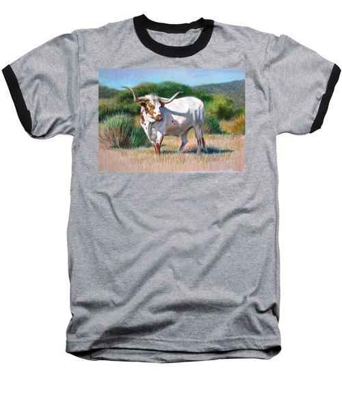 Longhorn Bull Baseball T-Shirt