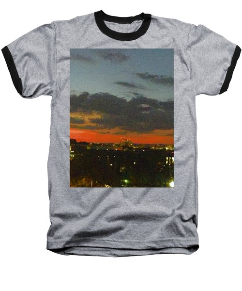Longhorn Dusk Baseball T-Shirt