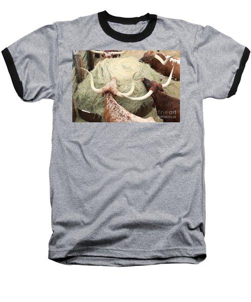 Longhorn Puzzler Baseball T-Shirt