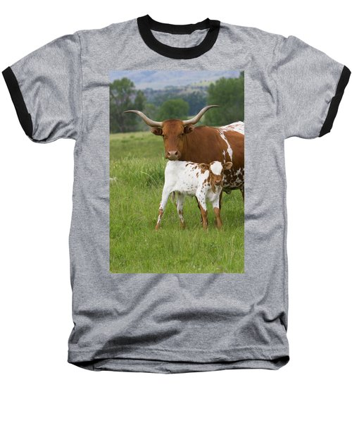 Longhorns Baseball T-Shirt