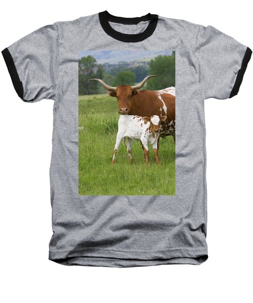 Longhorns Baseball T-Shirt