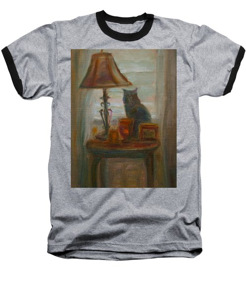 Longing- A Not-so-stillife Baseball T-Shirt