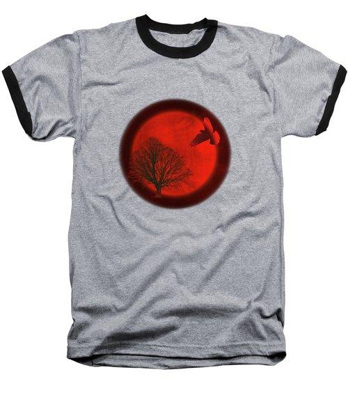 Longing Baseball T-Shirt by AugenWerk Susann Serfezi
