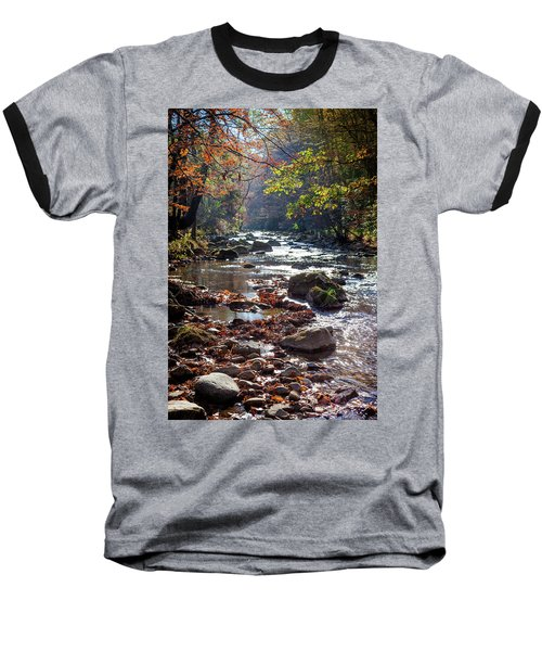 Baseball T-Shirt featuring the photograph Longing For Home by Karen Wiles
