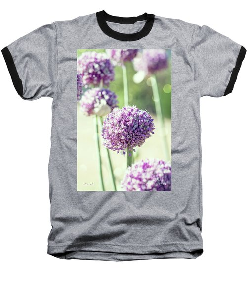 Baseball T-Shirt featuring the photograph Longing For Summer Days by Linda Lees