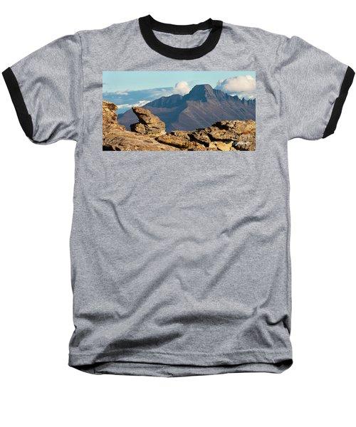 Long's Peak View Baseball T-Shirt