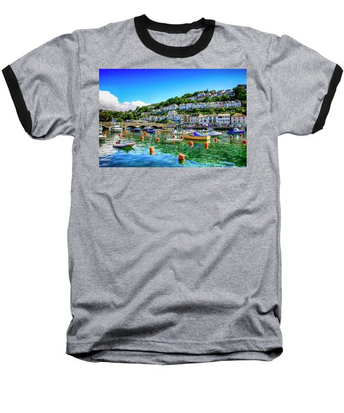 Looe In Cornwall Uk Baseball T-Shirt