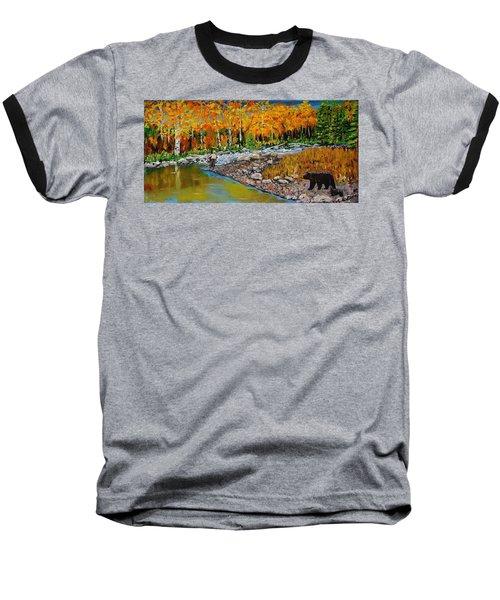 Look Around Joe Baseball T-Shirt by Mike Caitham