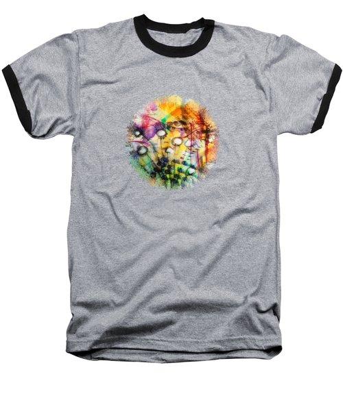 Look Around Baseball T-Shirt