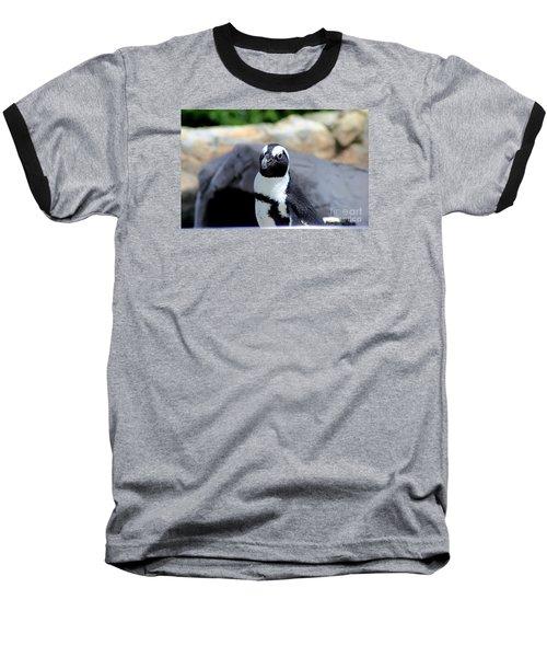 Look At The Humans Baseball T-Shirt