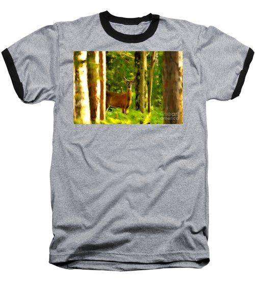 Look Deep Into Nature Baseball T-Shirt