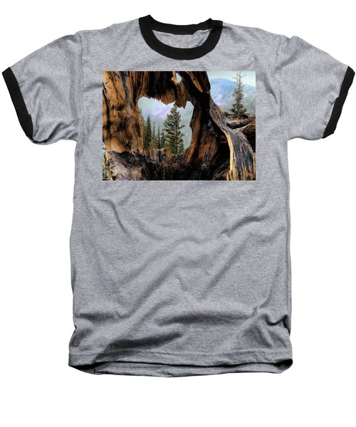 Baseball T-Shirt featuring the photograph Look Into The Heart by Jim Hill