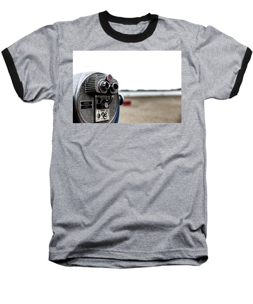 Baseball T-Shirt featuring the photograph Look  by Lora Lee Chapman
