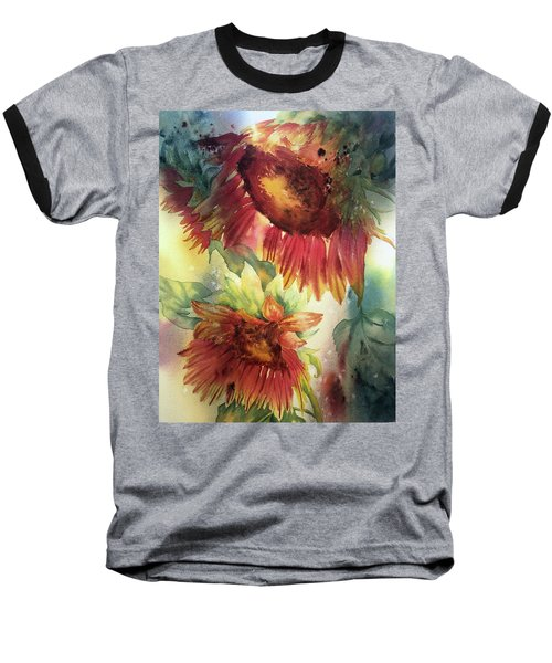 Look On The Sunny Side Baseball T-Shirt