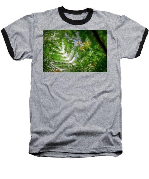 Look To The Sky Baseball T-Shirt by Stefanie Silva