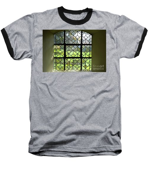 Looked Through The Window Baseball T-Shirt